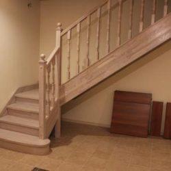 Изготовление лестницы для КП «Ветеран»